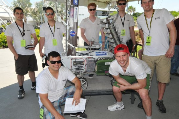 2011 NASA Robotic Mining Competition Team