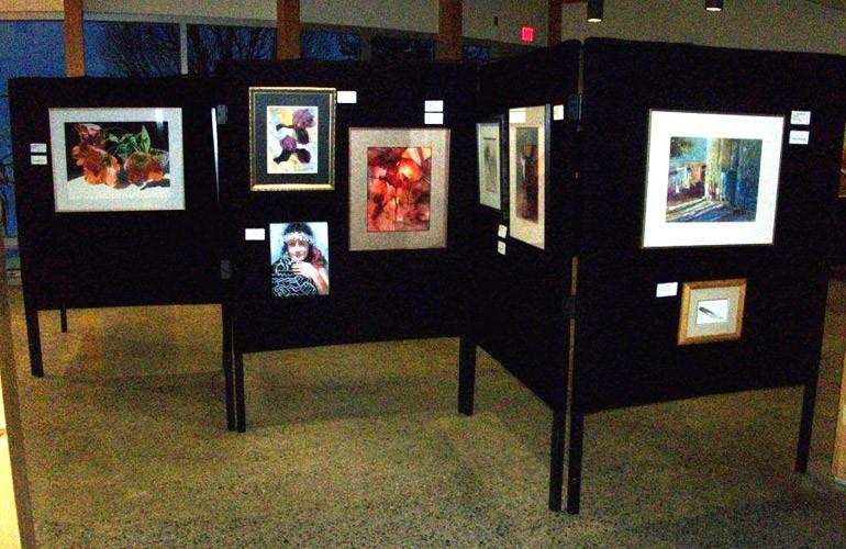 Une autre exposition, sur le thème de l'eau, de la Northern Artists Association, du 11 au 24février 2012.