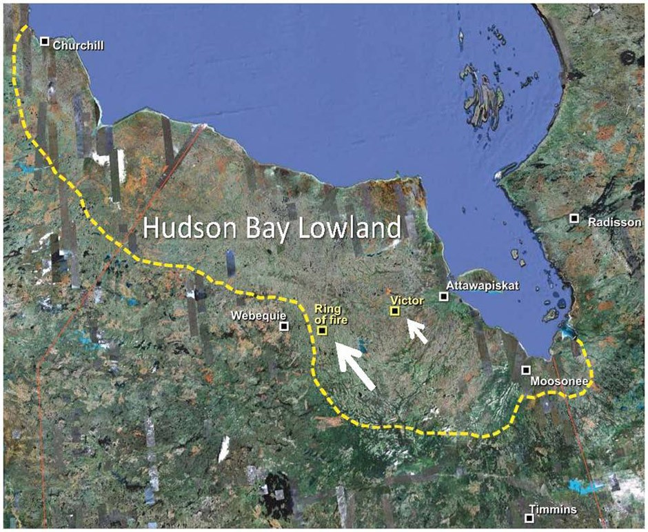 The Hudson Bay Lowlands is the second largest peatland in the world.