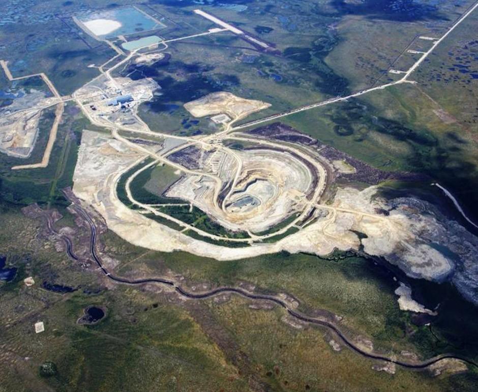 DeBeers Diamond Mine